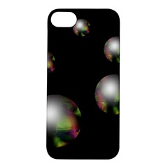 Silver pearls Apple iPhone 5S/ SE Hardshell Case