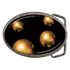 Golden pearls Belt Buckles