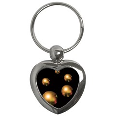 Golden pearls Key Chains (Heart)