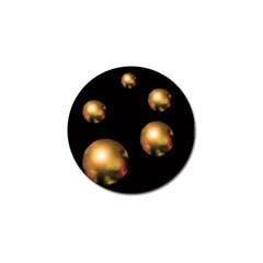 Golden pearls Golf Ball Marker (4 pack)