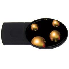 Golden pearls USB Flash Drive Oval (1 GB)