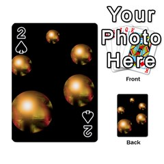 Golden pearls Playing Cards 54 Designs