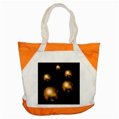 Golden pearls Accent Tote Bag