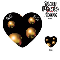 Golden pearls Playing Cards 54 (Heart)