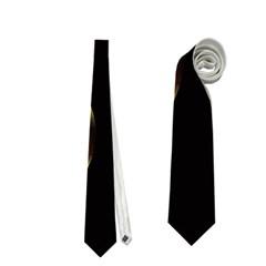Golden pearls Neckties (Two Side)