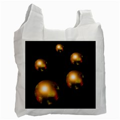Golden pearls Recycle Bag (One Side)