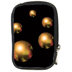 Golden pearls Compact Camera Cases