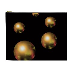 Golden pearls Cosmetic Bag (XL)