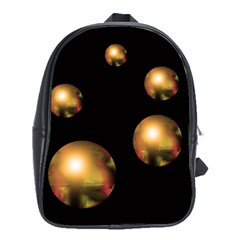 Golden pearls School Bags(Large)