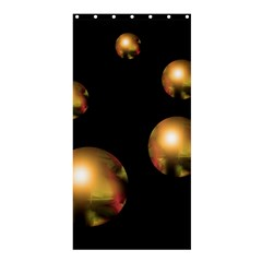 Golden pearls Shower Curtain 36  x 72  (Stall)