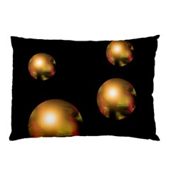 Golden pearls Pillow Case (Two Sides)