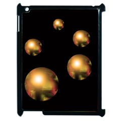 Golden pearls Apple iPad 2 Case (Black)