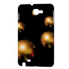 Golden pearls Samsung Galaxy Note 1 Hardshell Case