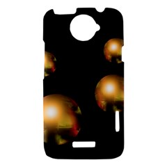 Golden pearls HTC One X Hardshell Case