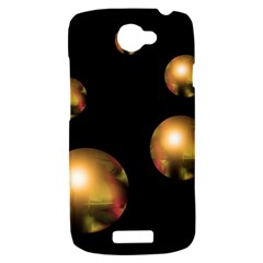 Golden pearls HTC One S Hardshell Case