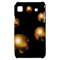 Golden pearls Samsung Galaxy S i9000 Hardshell Case