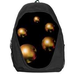 Golden pearls Backpack Bag