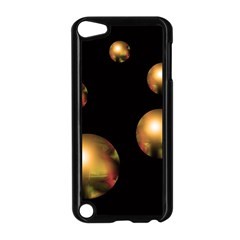 Golden pearls Apple iPod Touch 5 Case (Black)