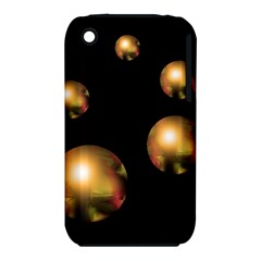 Golden pearls Apple iPhone 3G/3GS Hardshell Case (PC+Silicone)