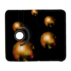 Golden pearls Samsung Galaxy S  III Flip 360 Case