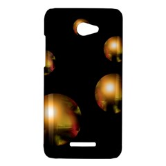 Golden pearls HTC Butterfly X920E Hardshell Case