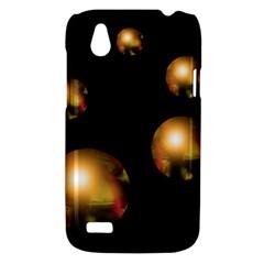 Golden pearls HTC Desire V (T328W) Hardshell Case