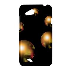 Golden pearls HTC Desire VC (T328D) Hardshell Case