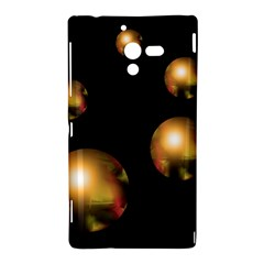 Golden pearls Sony Xperia ZL (L35H)