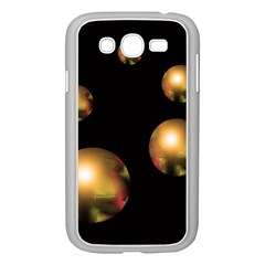 Golden pearls Samsung Galaxy Grand DUOS I9082 Case (White)
