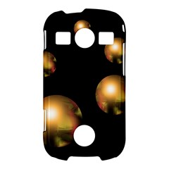 Golden pearls Samsung Galaxy S7710 Xcover 2 Hardshell Case