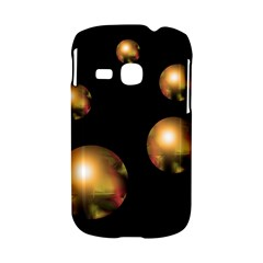 Golden pearls Samsung Galaxy S6310 Hardshell Case
