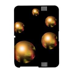 Golden pearls Amazon Kindle Fire (2012) Hardshell Case