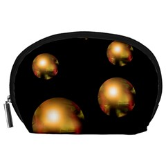 Golden pearls Accessory Pouches (Large)