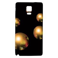 Golden pearls Galaxy Note 4 Back Case