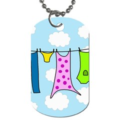 Laundry Dog Tag (Two Sides)