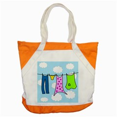 Laundry Accent Tote Bag