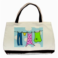 Laundry Basic Tote Bag (Two Sides)