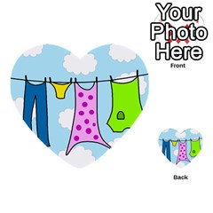 Laundry Multi-purpose Cards (Heart)