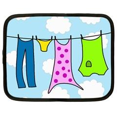 Laundry Netbook Case (Large)