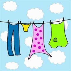Laundry Magic Photo Cubes