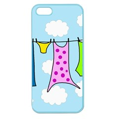 Laundry Apple Seamless iPhone 5 Case (Color)