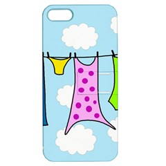 Laundry Apple iPhone 5 Hardshell Case with Stand