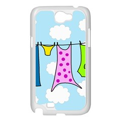 Laundry Samsung Galaxy Note 2 Case (White)
