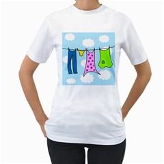 Laundry Women s T-Shirt (White)