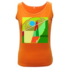 Colorful abstraction Women s Dark Tank Top