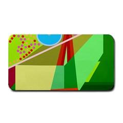 Colorful abstraction Medium Bar Mats