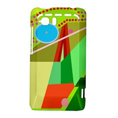 Colorful abstraction HTC Vivid / Raider 4G Hardshell Case