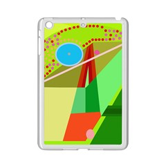 Colorful abstraction iPad Mini 2 Enamel Coated Cases