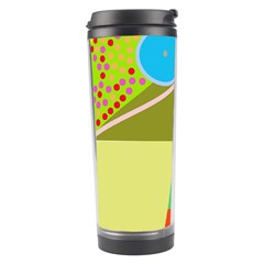 Colorful abstraction Travel Tumbler