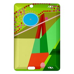 Colorful abstraction Amazon Kindle Fire HD (2013) Hardshell Case